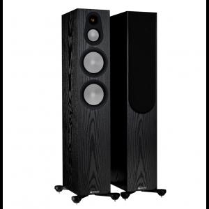 Monitor Audio Silver 300 7G Floorstanding Speakers Black Oak