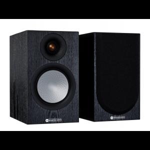 Monitor Audio Silver 50 7G Bookshelf Speakers Black Oak
