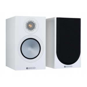 Monitor Audio Silver 50 7G Bookshelf Speakers Satin White