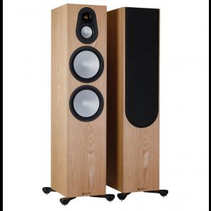 Monitor Audio Silver 500 7G Floorstanding Speakers Ash