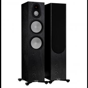 Monitor Audio Silver 500 7G Floorstanding Speakers Black Oak