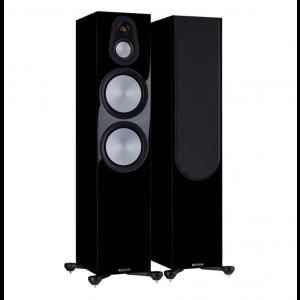 Monitor Audio Silver 500 7G Floorstanding Speakers Gloss Black