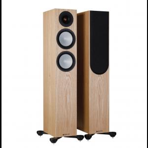 Monitor Audio Silver 200 7G Floorstanding Speakers Ash