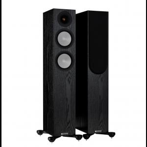 Monitor Audio Silver 200 7G Floorstanding Speakers Black Oak