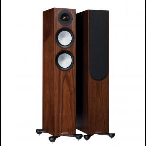 Monitor Audio Silver 200 7G Floorstanding Speakers Walnut