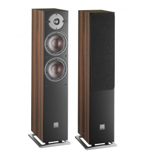 Dali Oberon 7 Floorstanding Speakers Dark Walnut