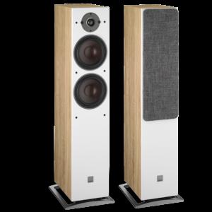 Dali Oberon 7 Floorstanding Speakers Light Oak