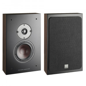 Dali Oberon On Wall Speakers Dark Walnut Pair
