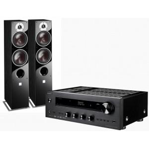 Onkyo TX-8270 Network Stereo Receiver w/ Dali Zensor 5 Speakers