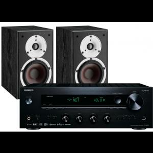 Onkyo TX-8270 Network Stereo Receiver w/ Dali Spektor 2 Speakers