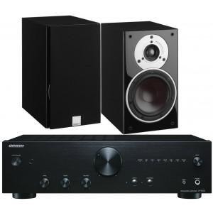 Onkyo A-9010 Amplifier w/ Dali Zensor 3 Speakers