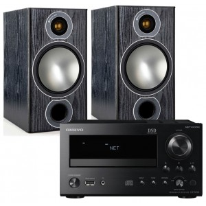 Onkyo CR-N765 w/ Monitor Audio Bronze 2 Speakers (RCD-M40)