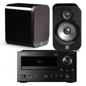 Onkyo CR-N765 w/ Q Acoustics 3020 Speakers