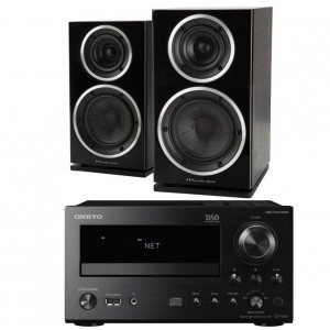 Onkyo CR-N765 w/ Wharfedale Diamond 220 Speakers