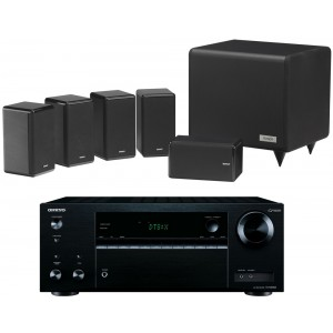 Onkyo TX-NR555 AV Receiver w/ Tannoy HTS101 XP Speaker Package 5.1