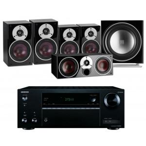 Onkyo TX-NR575E AV Receiver w/ Dali Zensor 3 Speaker Package 5.1