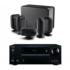 Onkyo TX-NR656 AV Receiver w/ Q Acoustics Q7000i Speaker Package 5.1