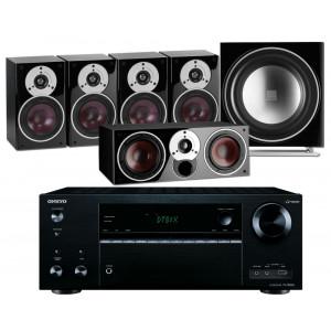 Onkyo TX-NR676E AV Receiver w/ Dali Zensor 1 Speaker Package 5.1