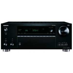 Onkyo TX-RZ710 AV Receiver 7.2 Channel Dolby Atmos DTS:X HDR Bluetooth AirPlay WiFi Googlecast Black