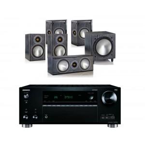 Onkyo TX-RZ710 w/ Monitor Audio Bronze 1 (5.1)