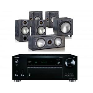 Onkyo TX-RZ710 w/ Monitor Audio Bronze 2 (5.1)