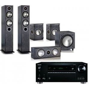 Onkyo TX-RZ710 w/ Monitor Audio Bronze 5 (5.1)