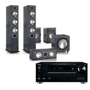 Onkyo TX-RZ710 w/ Monitor Audio Bronze 6 (5.1)