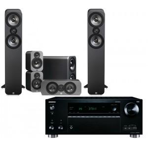 Onkyo TX-RZ710 w/ Q Acoustics 3050 Speakers (5.1)