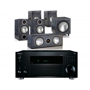 Onkyo TX-RZ810 w/ Monitor Audio Bronze 2 (5.1)