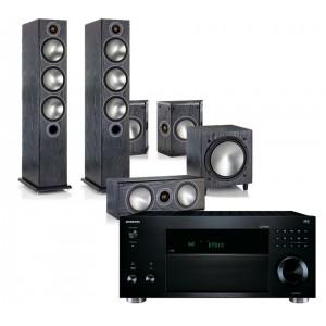 Onkyo TX-RZ810 w/ Monitor Audio Bronze 6 (5.1)