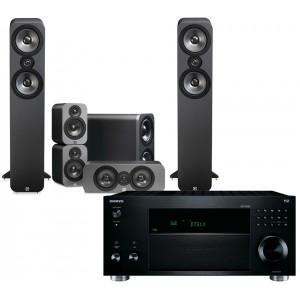 Onkyo TX-RZ810 w/ Q Acoustics 3050 Speakers (5.1)