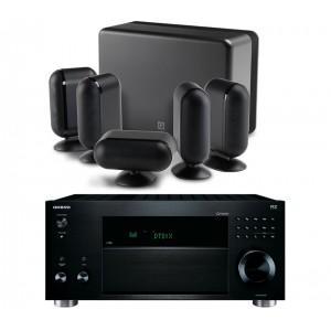 Onkyo TX-RZ810 w/ Q Acoustics Q7000i (5.1)