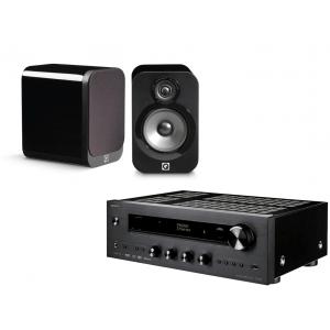 Onkyo TX-8270 Network Stereo Receiver w/ Q Acoustics 3020 Speakers