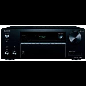 Onkyo TX-NR575E AV Receiver Black Dolby Atmos DTS:X HDR 4K Wifi Bluetooth