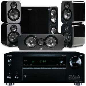 Onkyo TX-RZ710 w/ Q Acoustics 3000 Speakers (5.1)