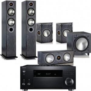 Onkyo TX-RZ800 w/ Monitor Audio Bronze 5 (5.1)