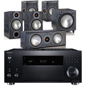 Onkyo TX-RZ900 w/ Monitor Audio Bronze 2 (5.1)