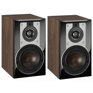Dali Opticon 1 Bookshelf Speakers - Walnut