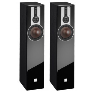 Dali Opticon 5 Floorstanding Speakers Black