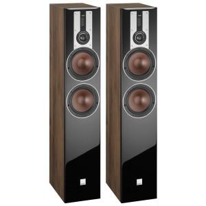 Dali Opticon 6 Floorstanding Speakers Walnut
