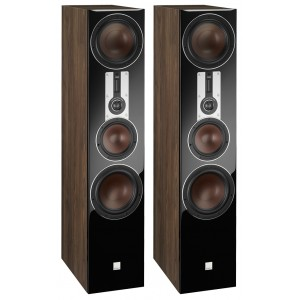 Dali Opticon 8 Floorstanding Speakers Walnut