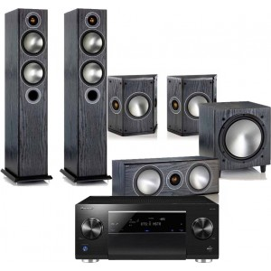 Pioneer SC-LX59 w/ Monitor Audio Bronze 5 (5.1)