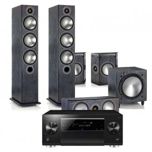 Pioneer SC-LX59 w/ Monitor Audio Bronze 6 (5.1)