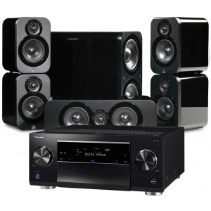 Pioneer SC-LX59 w/ Q Acoustics 3000 Speakers (5.1)