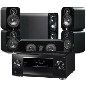Pioneer SC-LX89 w/ Q Acoustics 3000 Speakers (5.1)