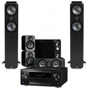 Pioneer SC-LX59 w/ Q Acoustics 3050 Speakers (5.1)