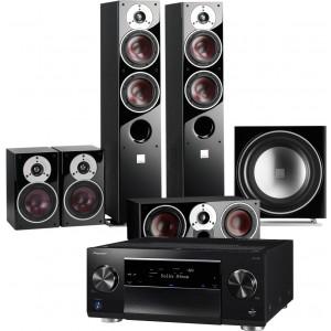 Pioneer SC-LX701 w/ Dali Zensor 5 Speaker Package 5.1
