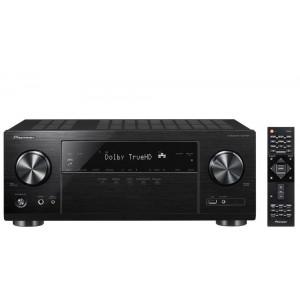 Pioneer VSX-1131 AV Receiver 4K DTS:X Dolby Atmos Bluetooth Wi-Fi Googlecast Airplay - Black