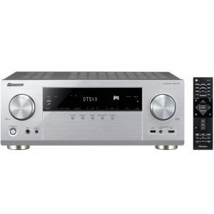 Pioneer VSX-1131 AV Receiver 4K DTS:X Dolby Atmos Bluetooth Wi-Fi Googlecast Airplay - Silver