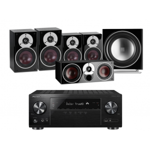 Pioneer VSX-831 w/ Dali Zensor 3 Speaker Package 5.1
